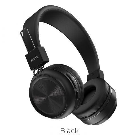 HOCO Bluetooth Headset (W25) Black
